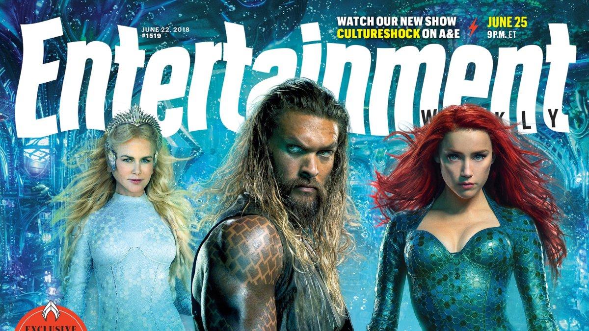 Jason Momoa Aquaman Movie Poster Gapura J