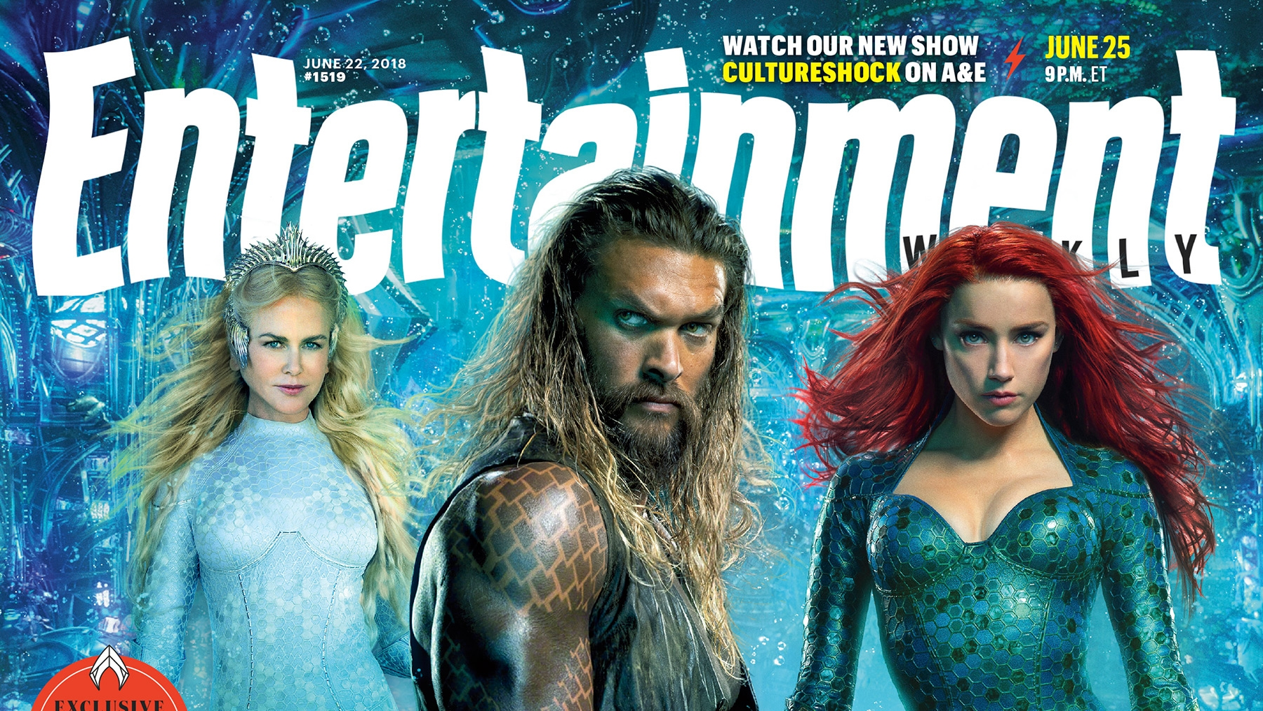 Aquaman Entertainment Weekly Cover F