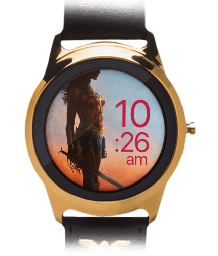 One61 Smartwatch - Wonder Woman - Close