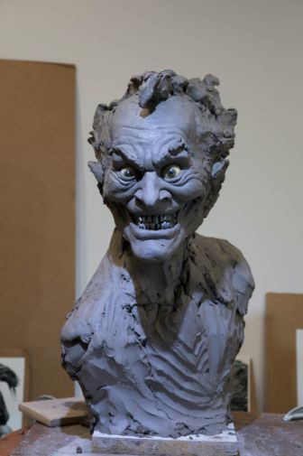 DC Collectibles - Rick Baker Joker Bust - Work in Progress - 05
