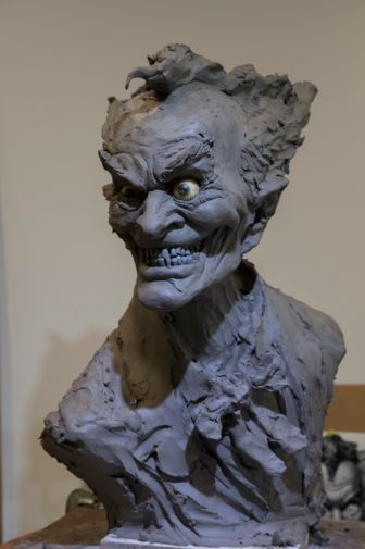 DC Collectibles - Rick Baker Joker Bust - Work in Progress - 06