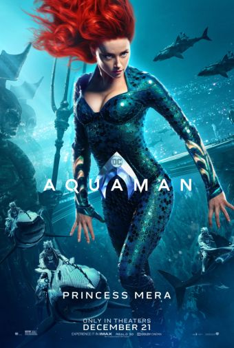 Aquaman - Chraracter Posters - Princess Mera