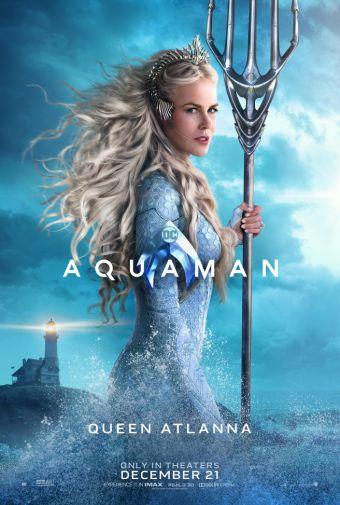 Aquaman - Chraracter Posters - Queen Atlanna