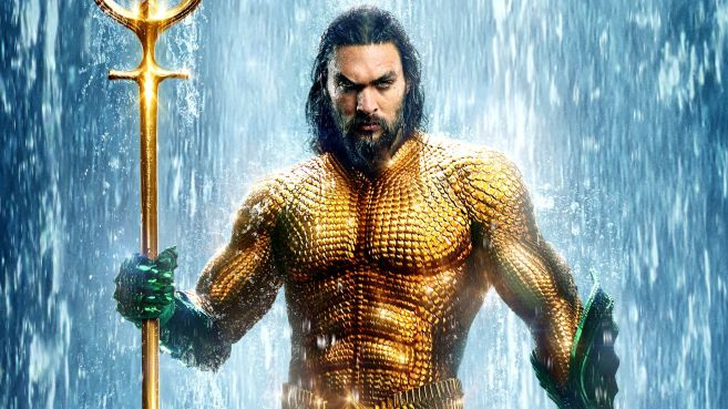 Aquaman - Movie Poster - Main Hero - Featured