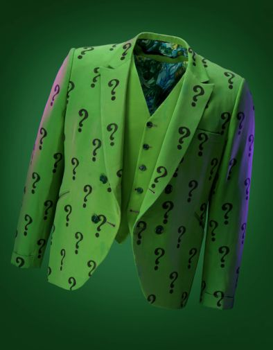 Batman TV Series - Riddler Jacket and Vest - Propstore Auction - 1900