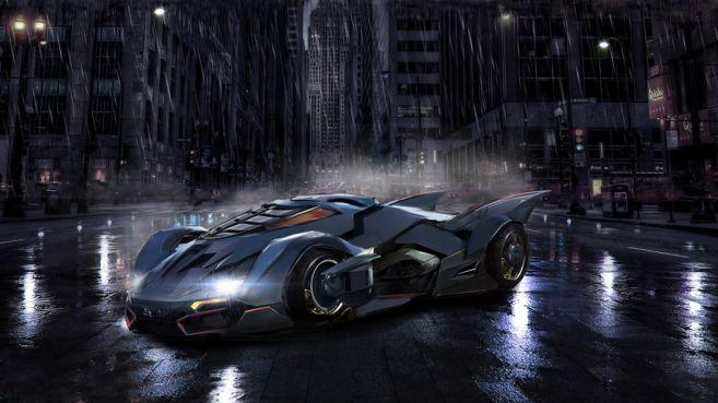 DC Universe - Titans - Batmobile - Concept Art - John Gallagher - 02