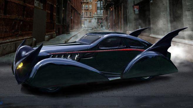DC Universe - Titans - Batmobile - Concept Art - John Gallagher - 07