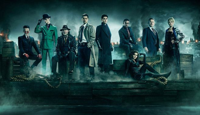 Gotham - Season 5 Cast Photo - Pre-release