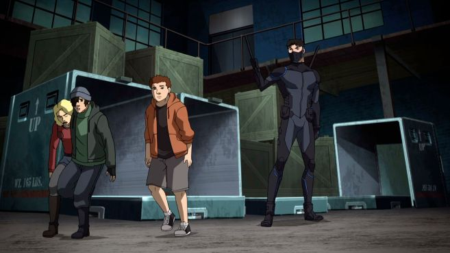 Young Justice Outsiders - Trailer 1 - 08