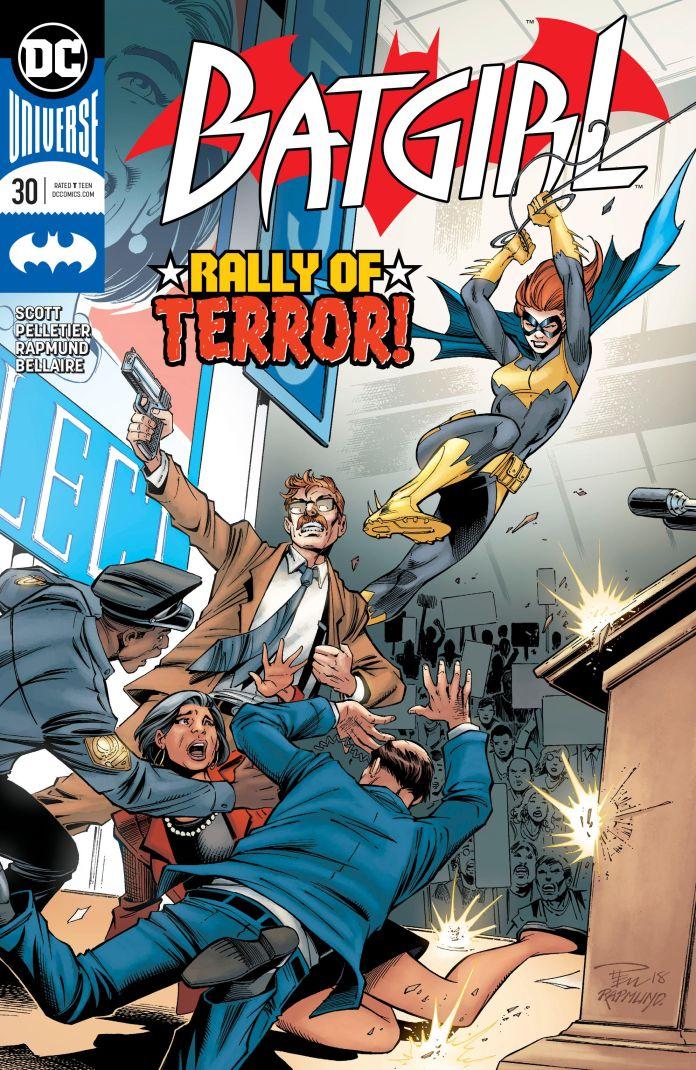batgirl 30 review batman news