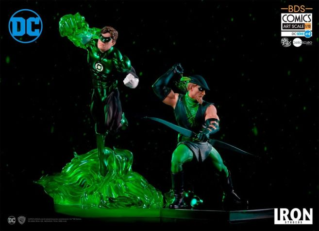 Iron Studios - DC Comics - Green Arrow and Green Lantern - 01