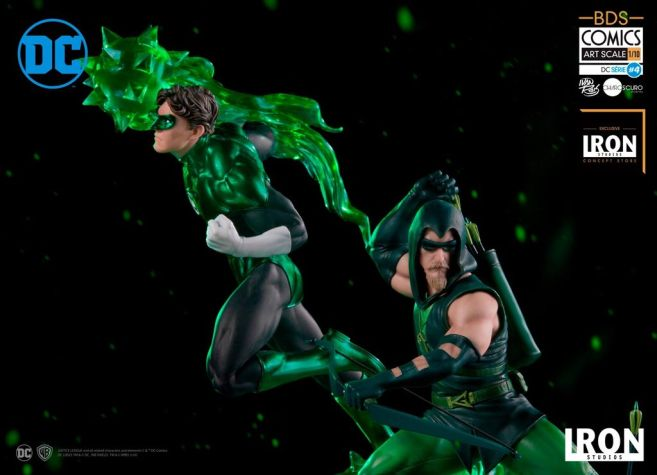 Iron Studios - DC Comics - Green Arrow and Green Lantern - 05