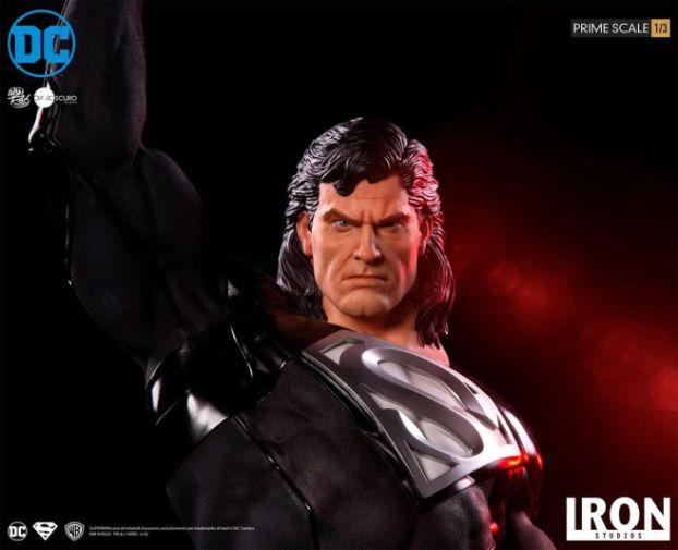 Iron Studios - DC Comics - Superman - Black Suit - 13