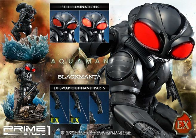 Prime 1 Studio - Aquaman - Black Manta - 03