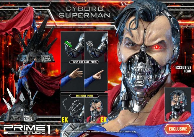 Prime 1 Studio - Superman - Cyborg Superman - 03