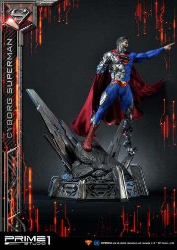 Prime 1 Studio - Superman - Cyborg Superman - 06
