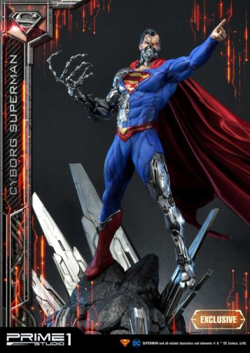 Prime 1 Studio - Superman - Cyborg Superman - 09
