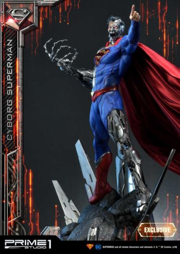 Prime 1 Studio - Superman - Cyborg Superman - 11