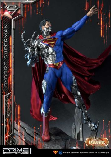 Prime 1 Studio - Superman - Cyborg Superman - 12