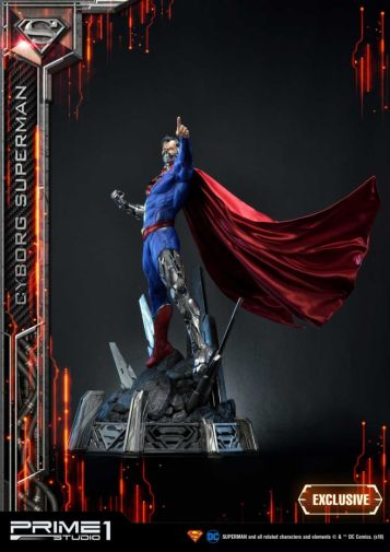 Prime 1 Studio - Superman - Cyborg Superman - 14