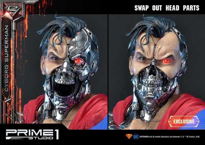 Prime 1 Studio - Superman - Cyborg Superman - 18