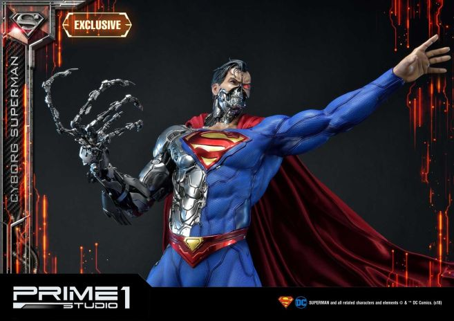 Prime 1 Studio - Superman - Cyborg Superman - 20