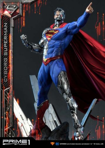 Prime 1 Studio - Superman - Cyborg Superman - 21