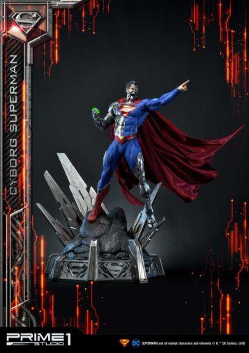 Prime 1 Studio - Superman - Cyborg Superman - 23