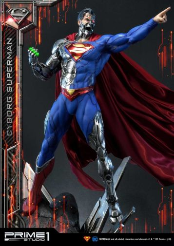 Prime 1 Studio - Superman - Cyborg Superman - 24