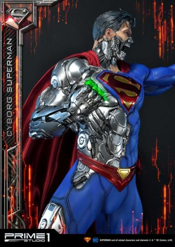 Prime 1 Studio - Superman - Cyborg Superman - 39