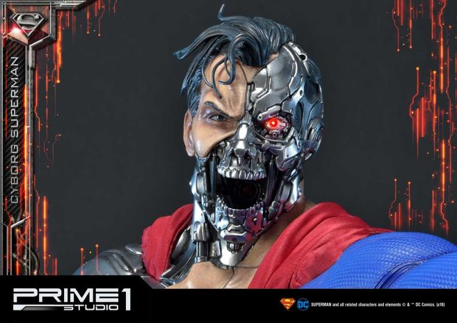 Prime 1 Studio - Superman - Cyborg Superman - 45