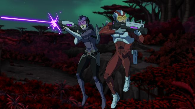 Young Justice Outsiders - Season 3 - Ep 01 - 03