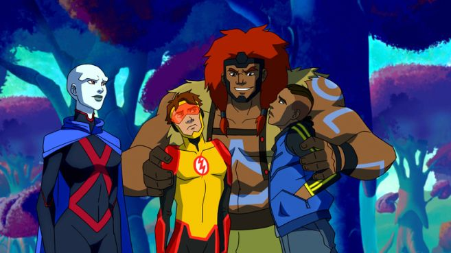 Young Justice Outsiders - Season 3 - Ep 05 - 07