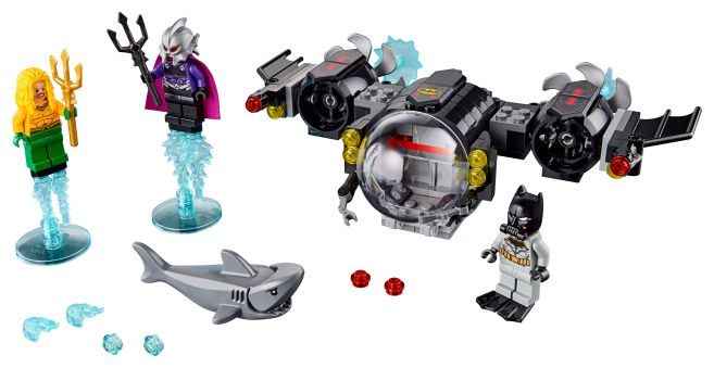 76116 - LEGO - Batman - Batsub and the Underwater Crash - 01