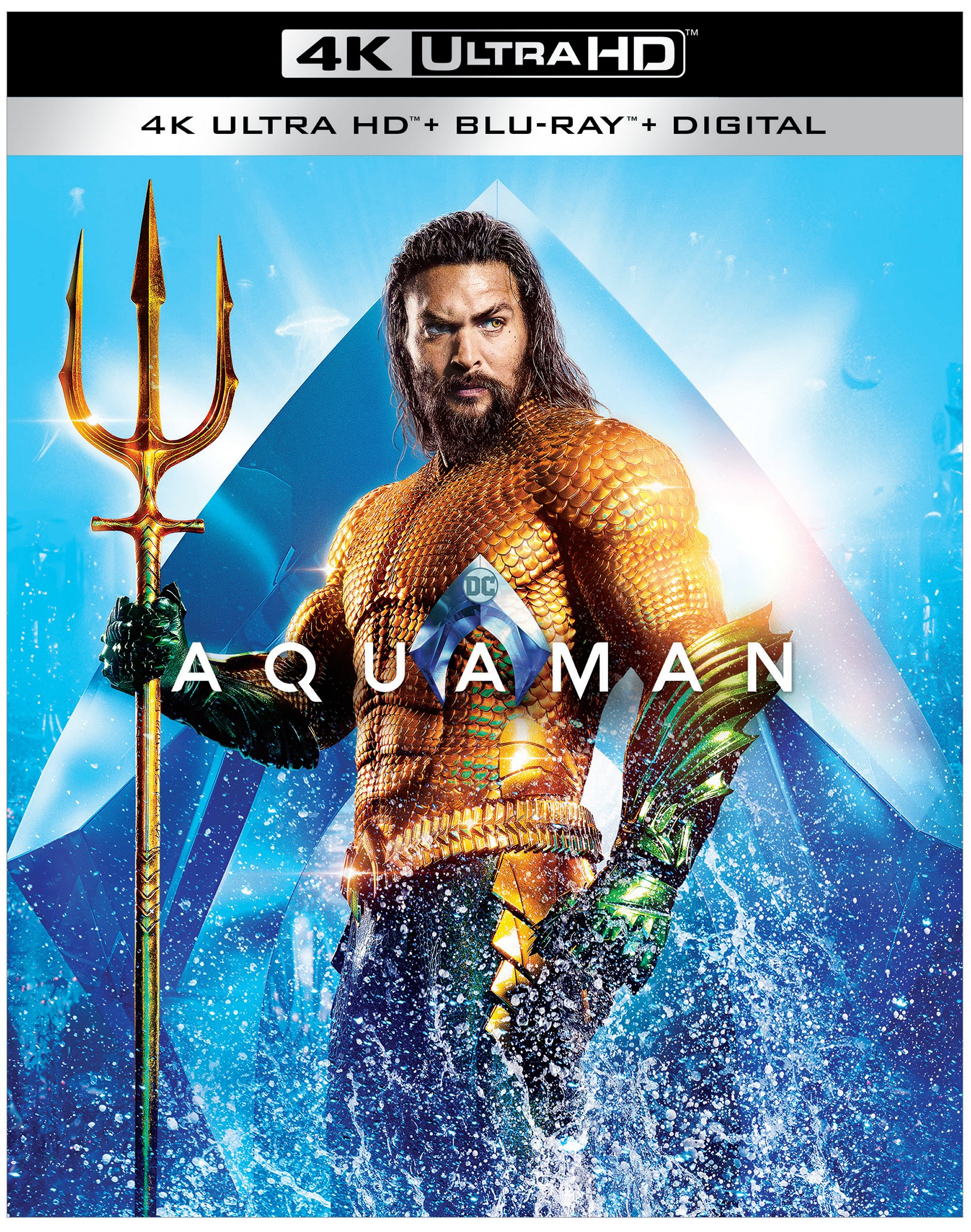 Aquaman home video release dates announced for Blu-ray and digital