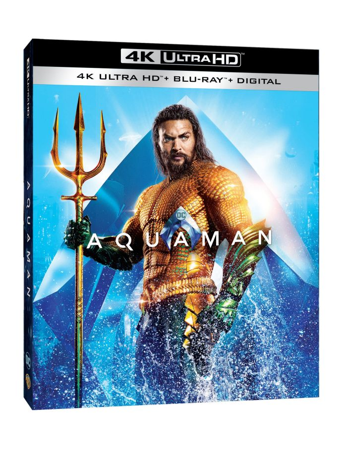 Aquaman home video release dates announced for Blu-ray and