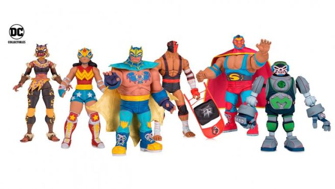 DC Collectibles - Toy Fair 2019 - Preview - DC Lucha Explosiva - 01