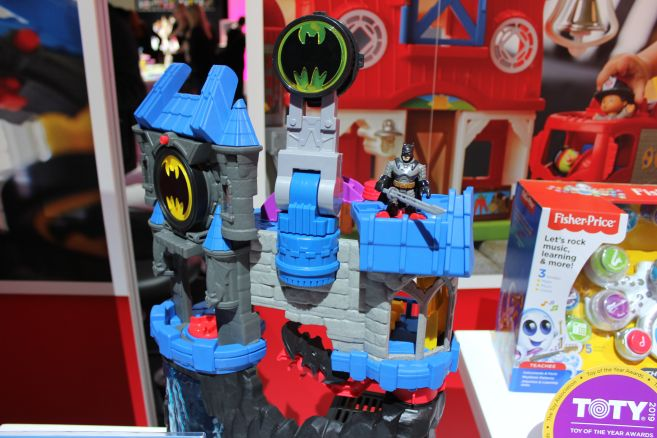 Mattel - Toy Fair 2019 - Imaginext - Batcave - 03