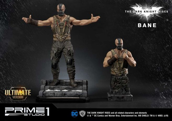 Prime 1 Studio - Dark Knight Rises - Bane - Statue - 12