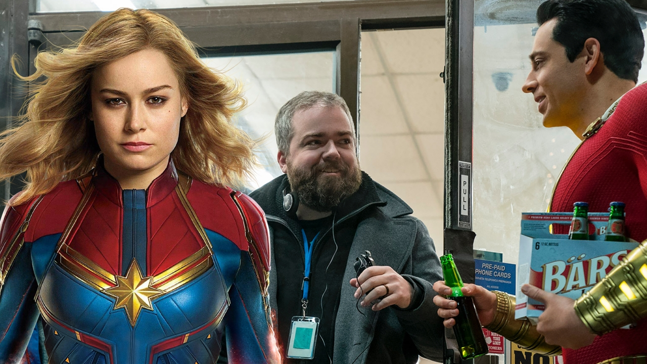 "shazam!' director hopes 'captain marvel' makes ""all the money"" and"