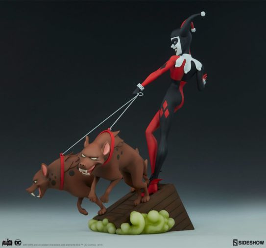 Sideshow - Batman the Animated Series - Harley with Hyenas - 14