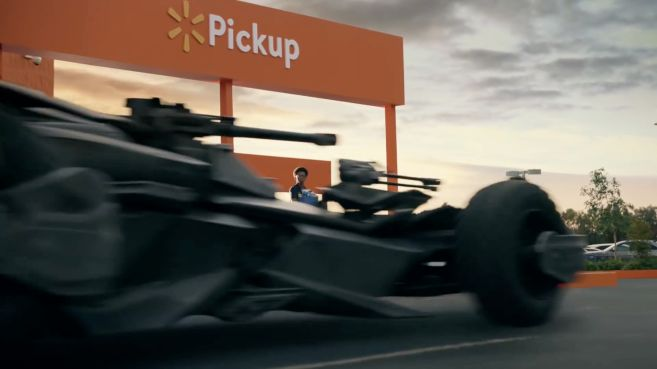 Walmart - Super Bowl LIII Commercial - Batmobile - 04