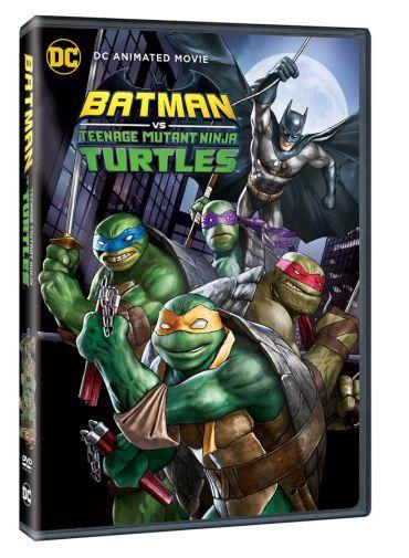 Batman vs TMNT - DVD 3D