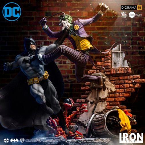 Iron Studios - Batman - Batman cs Joker Battle Diorama - 02