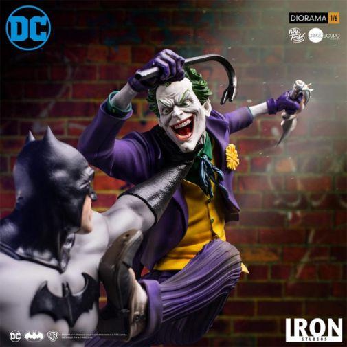 Iron Studios - Batman - Batman cs Joker Battle Diorama - 10