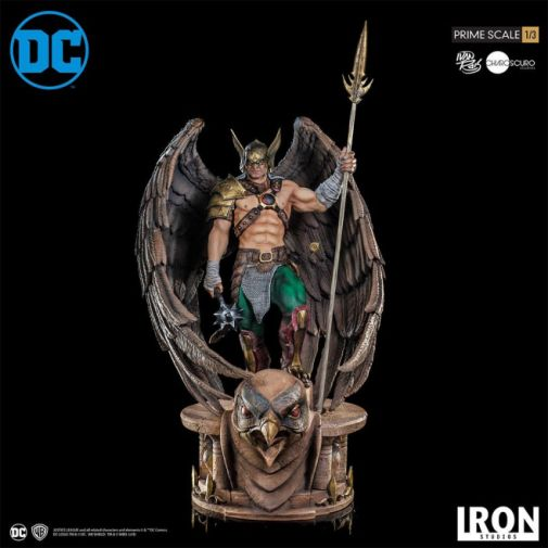 Iron Studios - DC Comics - Hawkman - Closed Wings - 01