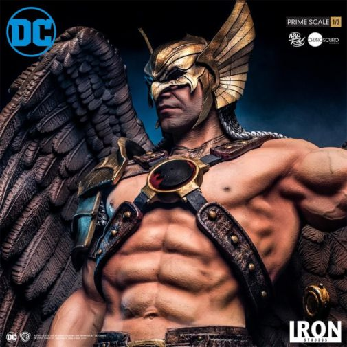 Iron Studios - DC Comics - Hawkman - Closed Wings - 02
