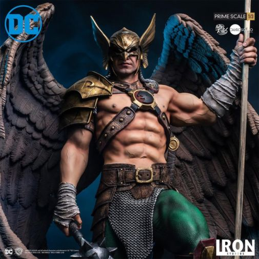 Iron Studios - DC Comics - Hawkman - Closed Wings - 07