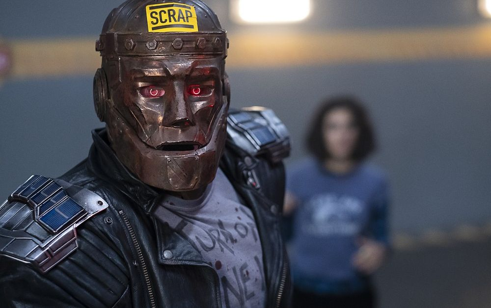 The Doom Patrol Go After Cyborg In New Episode Photos Batman News