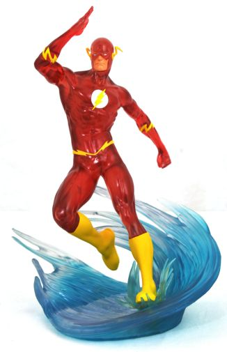 DST - SDCC Exclusives 2019 - DC Gallery - Speed Force Flash PVC Statue - 01